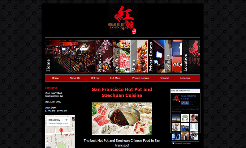 Restaurant Website Designer Service Bay Area San Francisco